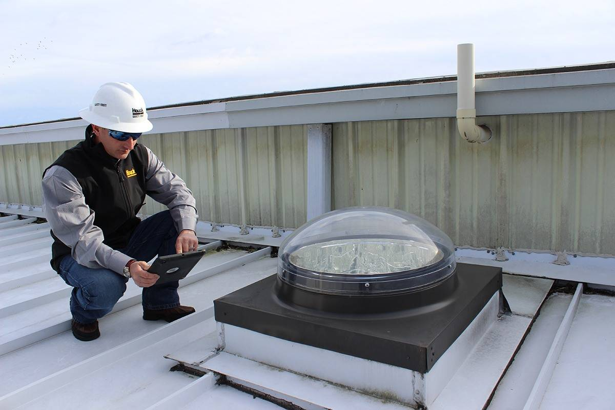 roof inspection reporting